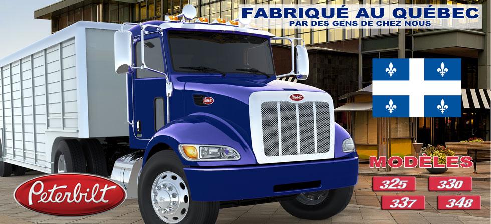 Camions Peterbilt fabriqué au Québec