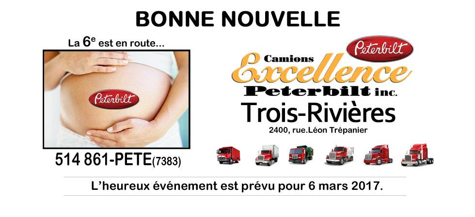Succursale de Excellence Peterbilt de Trois-Rivières