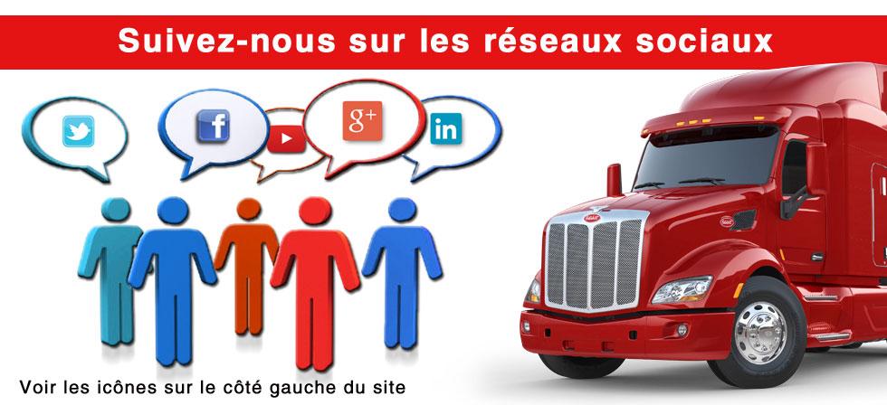 Excellence Peterbilt médias sociaux