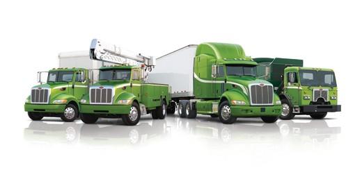 Camion lourd hybrid ou gaz naturel (GNL, GNC)