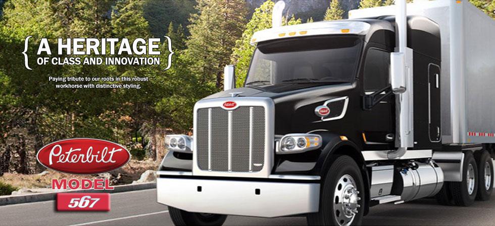 Peterbilt truck 567 Heritage