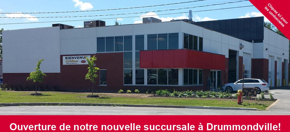bannière Drummondville site web
