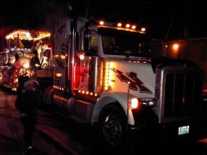 Prêt de Peterbilt par Camions Excellence Peterbilt pour la parade de Sainte-Julie