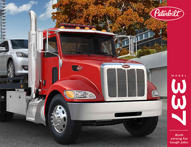 Camion Peterbilt 337