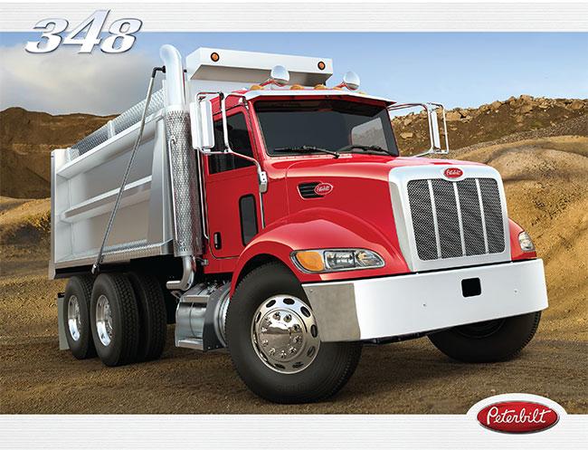 Camion Peterbilt 348 brochure
