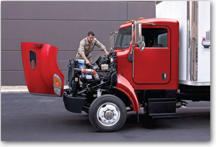 Conception facile d'entretien du Camion Peterbilt modèle 337