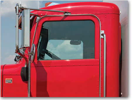 Très bonne visibilité de Camion Peterbilt 337