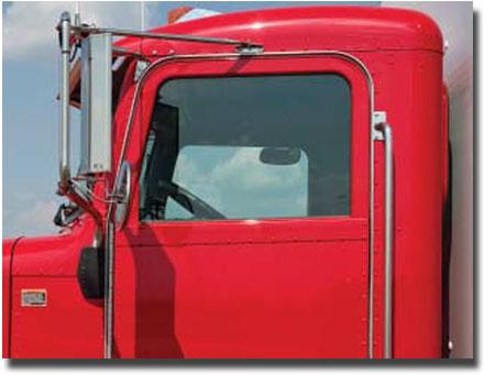 Visibilité améliorée du camion Peterbilt modèle 348