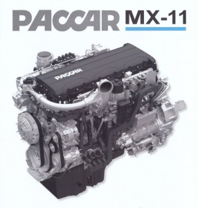 Paccar engine MX-11 for Peterbilt trucks