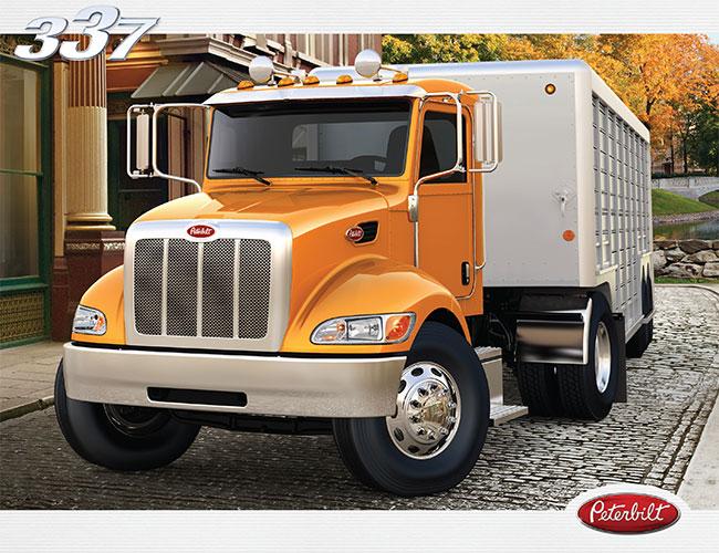Camion Peterbilt 337 brochure