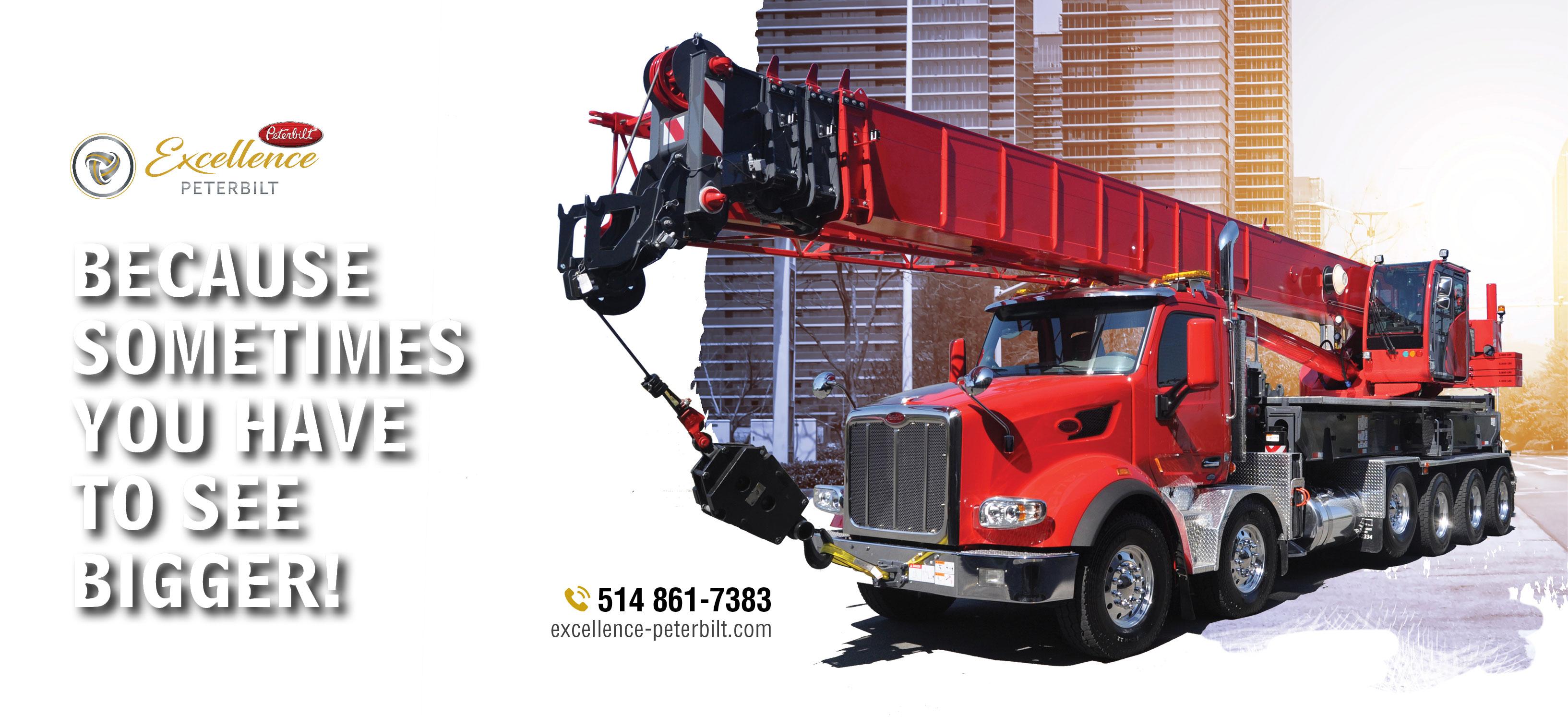 Peterbilt truck built for you