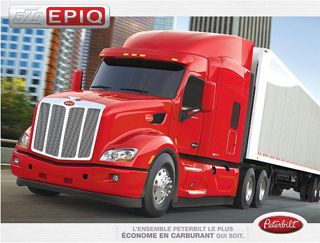 Camion Peterbilt 579 EPIQ