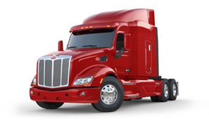 Peterbilt truck model 579