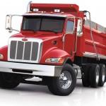 Peterbilt truck model 348