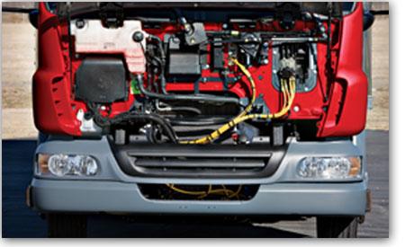 Camion Peterbilt modèle 210/220