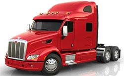 Peterbilt truck model 587