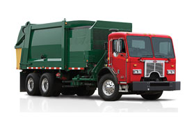 New Peterbilt truck model 320
