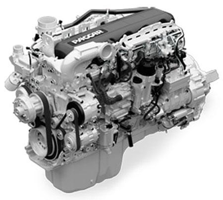 Un puissant moteur Paccar MX-13 avec option de 500 hp est disponible