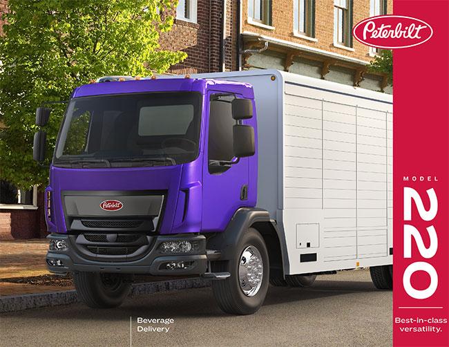 Peterbilt 220 truck brochure