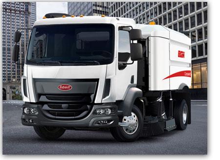 Camion Peterbilt modèle 220 versatilité