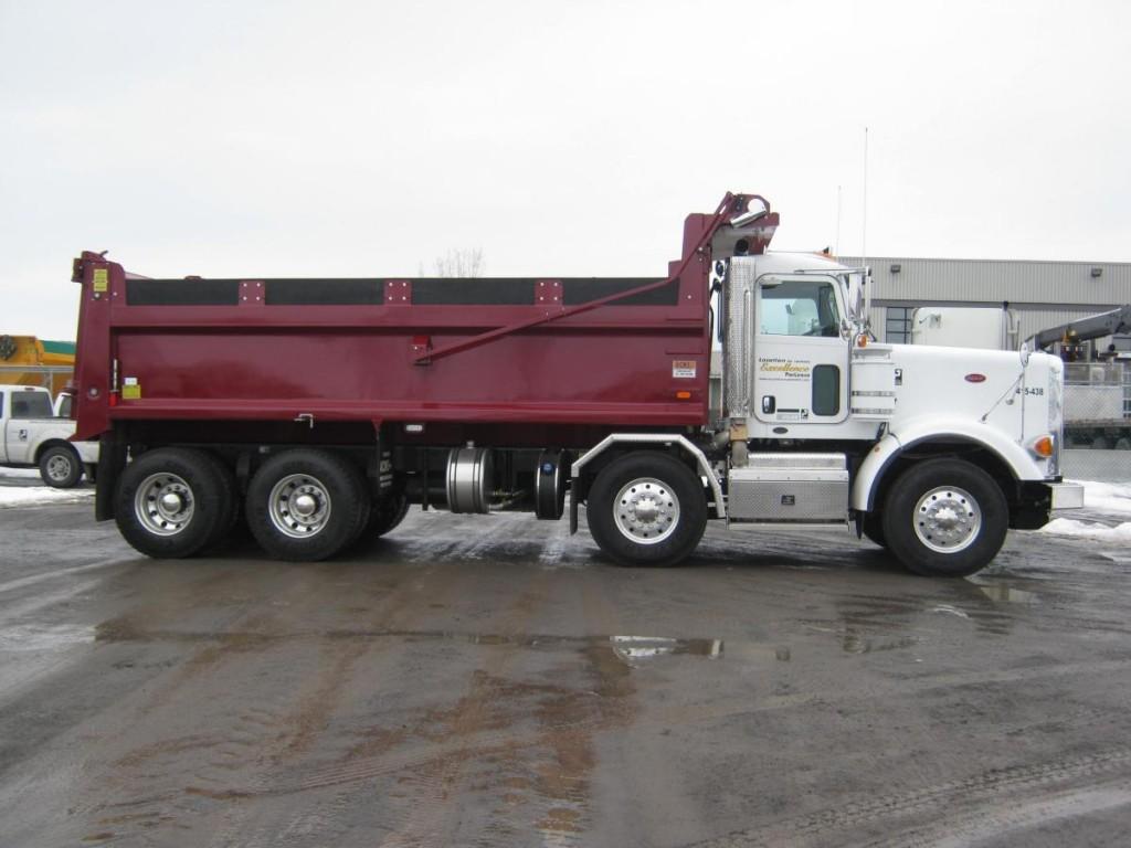 camion dompeur 12 roues camions excellence peterbilt. Black Bedroom Furniture Sets. Home Design Ideas