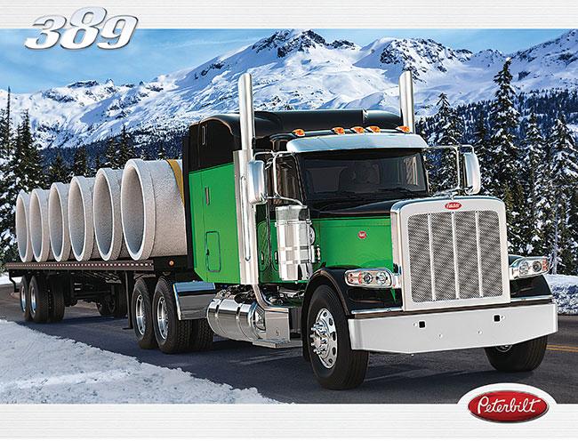Camion Peterbilt 389 brochure
