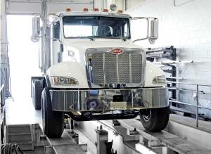 Service alignement de camions lourds