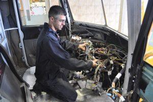 Installation d'accessoires et d'équipement spécialisé de camion lourd