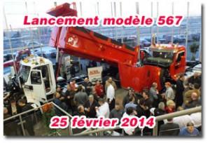 Lancement du nouveau modèle 567 de Peterbilt