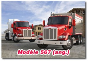 Camion Peterbilt modèle 567 en vidéo