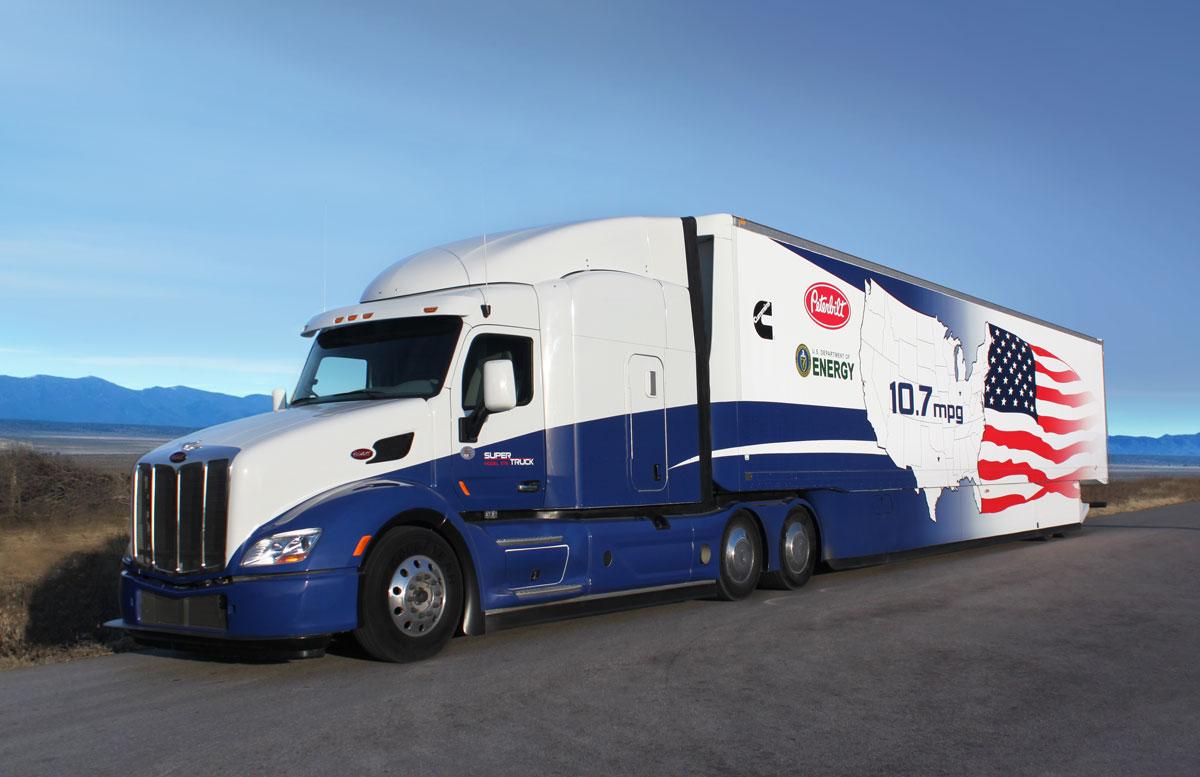 Le Super Truck de Peterbilt - Camions Excellence Peterbilt