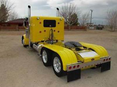 Ailes Minimizer de camion tandem - Minimizer tandem axle fender