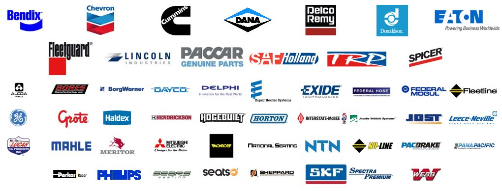 Some of our truck parts distributor