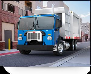 Le camion Peterbilt modèle 520 est très robuste