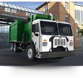 La cabine du camion s'incline à 65 degrés pour un entretien facile du modèle 520