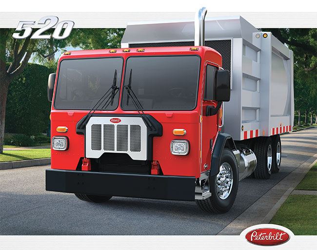 Camion Peterbilt 520 brochure
