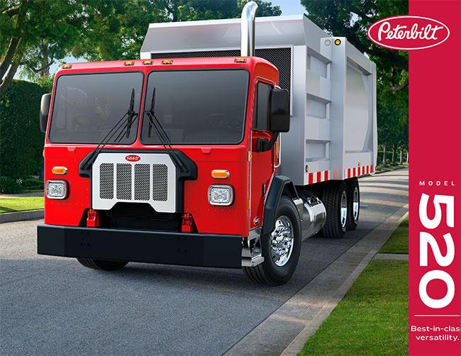 Peterbilt 520 truck