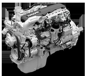 Plusieurs gammes de moteurs disponibles dont le gaz naturel pour le modèle 520 de Peterbilt