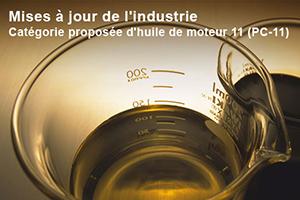 Norme huiles pour moteurs diesel PC-11