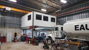Un atelier hydraulique pour Excellence PacLease.