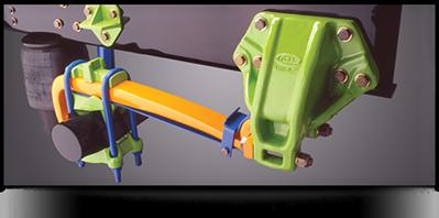 Réparation de suspension pour camion lourd