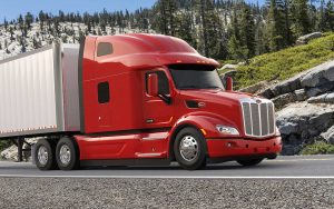 Camion Peterbilt modèle 579 Ultraloft