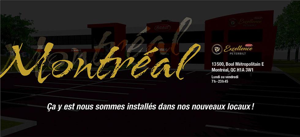 Peterbilt Montréal