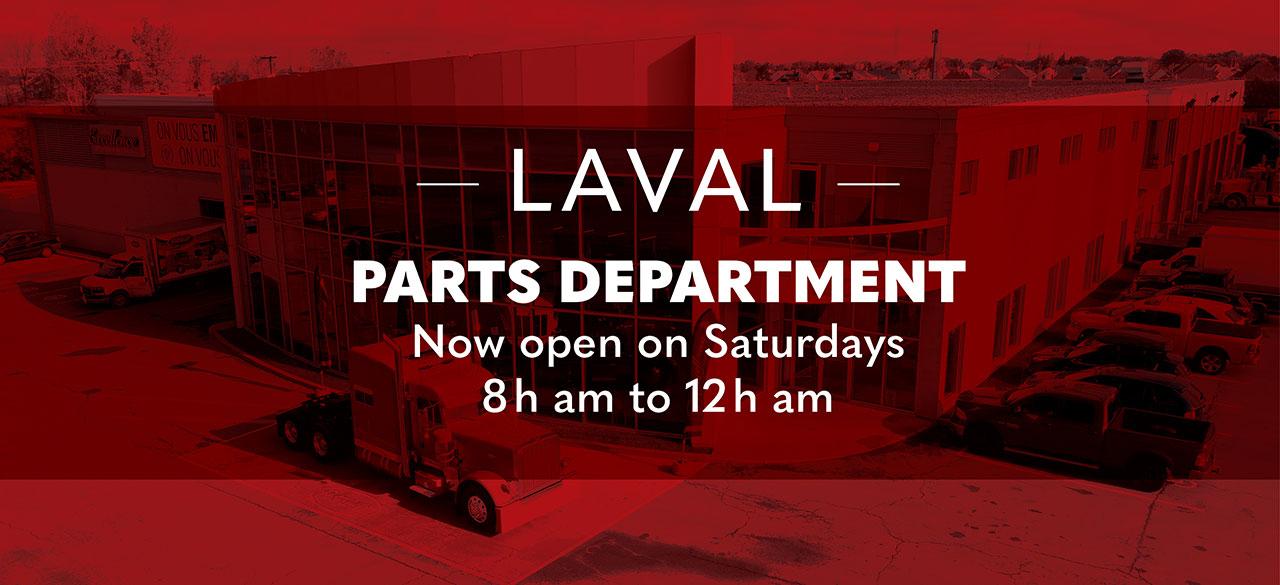 Peterbilt trucks parts department laval