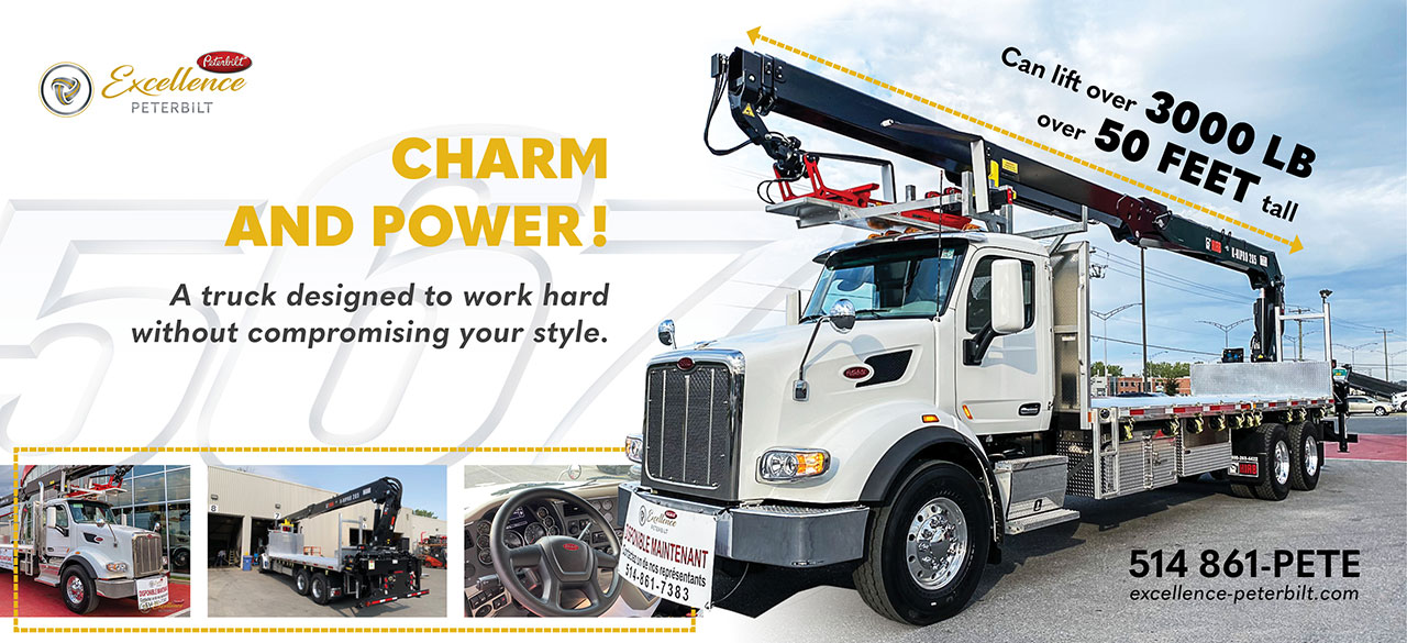 Peterbilt 567 boom truck 750061