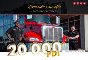 20000 PDI pour la succursale de Laval