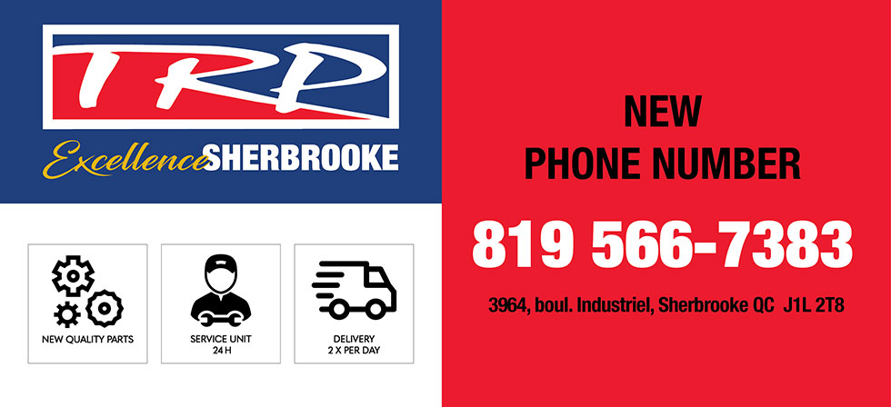 Truck parts TRP-Sherbrooke new phone number