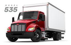 Camion Peterbilt 535 truck