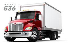 Camion Peterbilt 536 truck